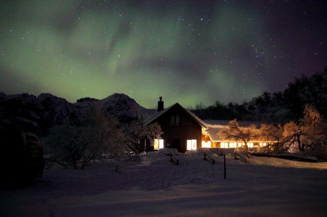 Básar_norðurljós - Mynd: Ólafur Guðlaugsson