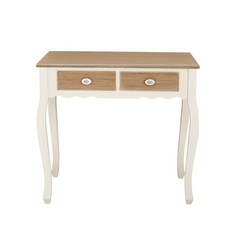 Juliette Console Table 2 Drawers Vintage Style Painted