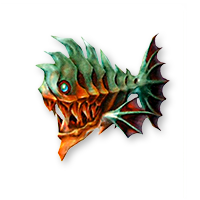 Final Fantasych FF10 Bestiaire Piranha