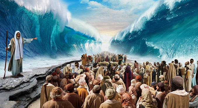 Evidencias de que Moisés cruzo el mar Rojo!!!!! -