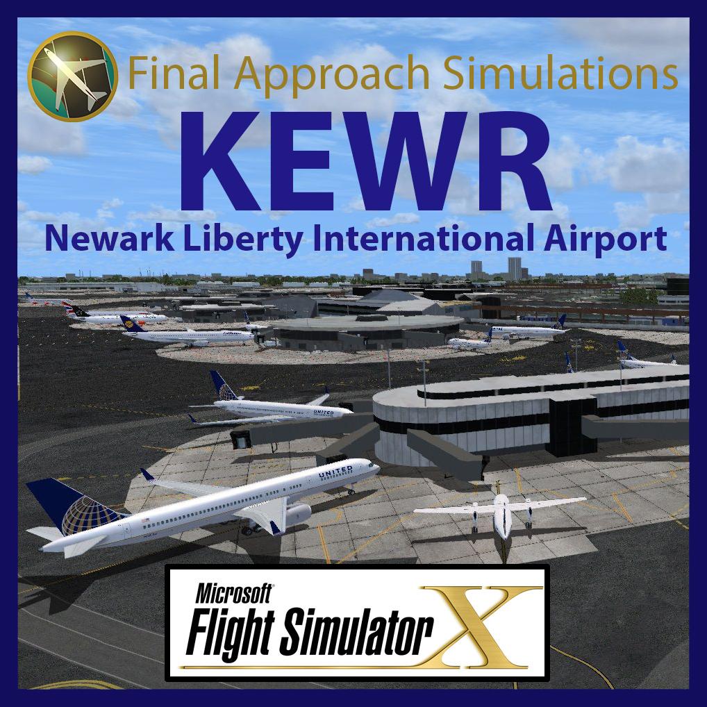 KEWR Newark Liberty International Airport for FSX (Download)