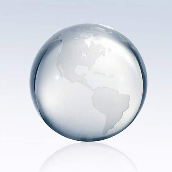 Clear Ocean World Globe