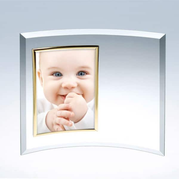 Curved Vertical Photo Frame