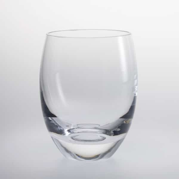 Curved Whisky Glass