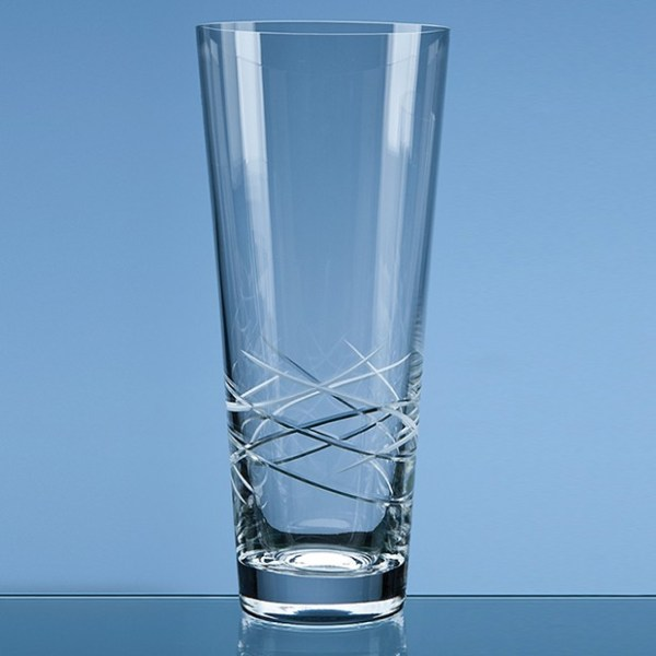 30cm Tiesto Cut Conical Vase