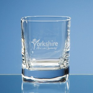 290ml Strauss DOF Square Whisky Tumbler