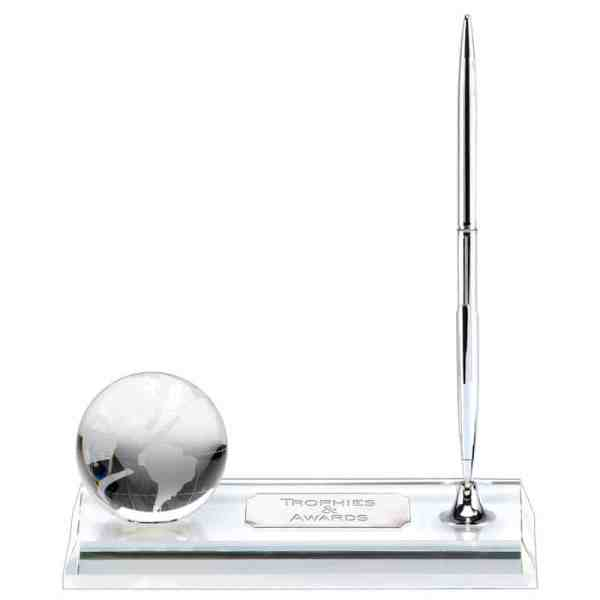Magellen Optical Crystal Globe &