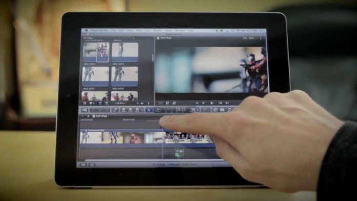 iPad junto al Final Cut Pro X