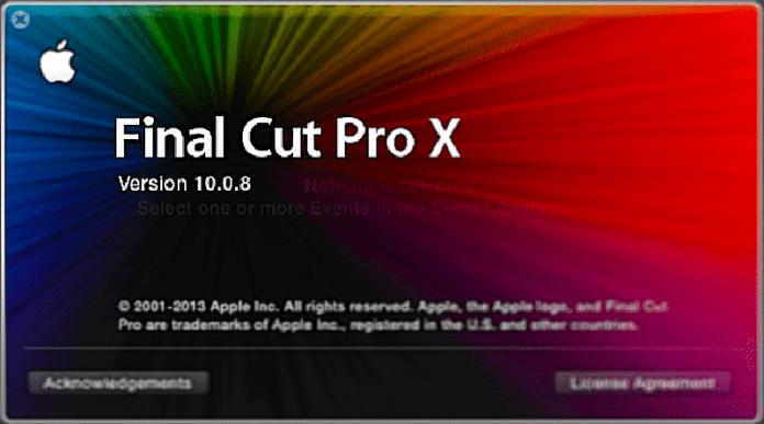 Final Cut Pro X 10.0.8 – No sólo bug fixes.