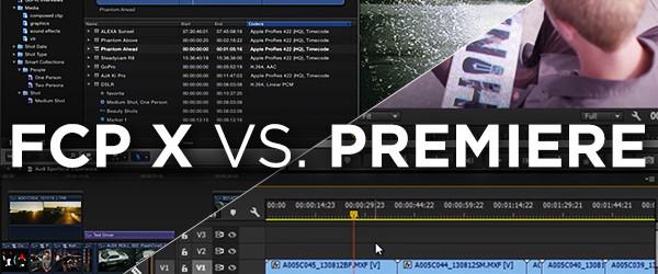 FCP X Vs. Premiere