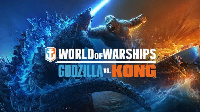 World of Warships Godzilla vs Kong