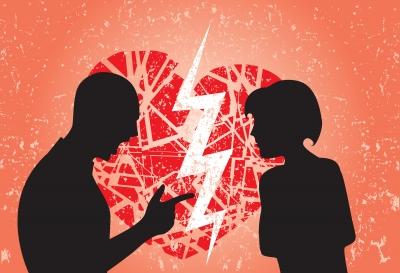 Breakup Sillouette