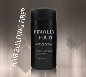 hair loss solution - hair building fibers