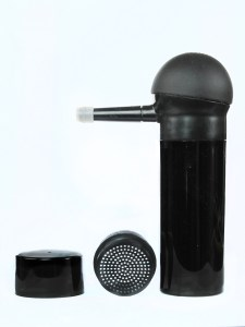 atomizer sprayer and shaker bottle combination