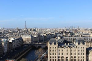 Parigi vista dalla Cattedrale di Notre-Dame