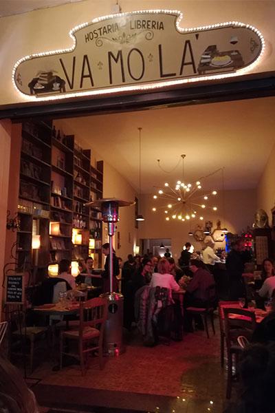 Osteria libreria Bologna