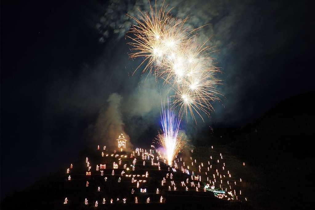 Inaugurazione Presepe di Manarola