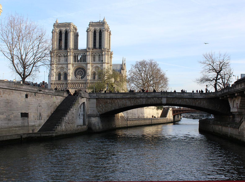 Notre Dame dal Bateaux Mouche