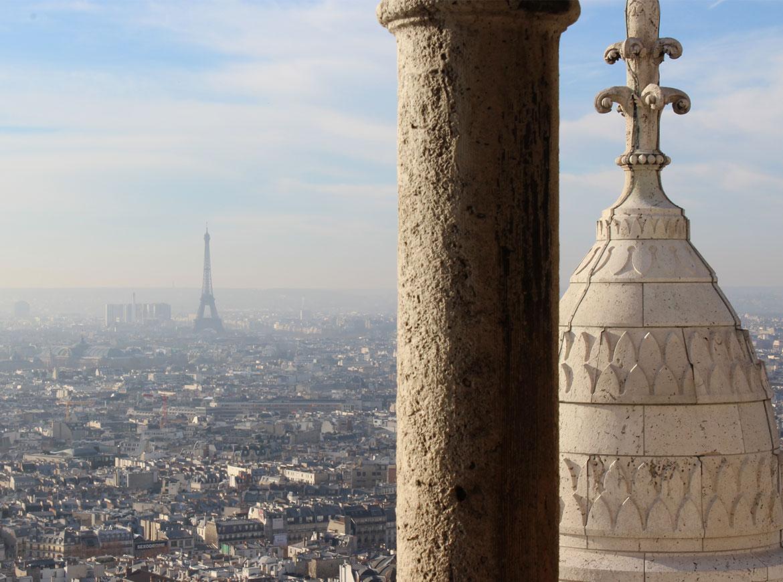 Parigi dalla Basilica del Sacro Cuore