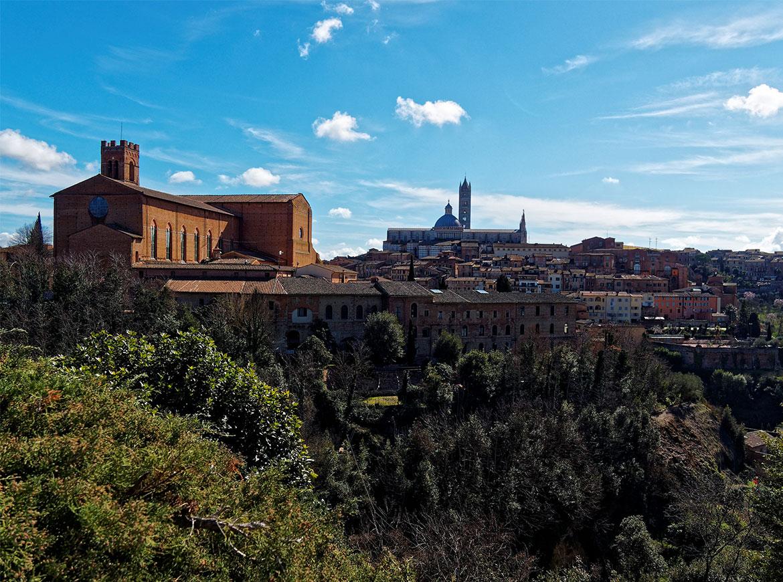 Belvedere alle porte di Siena