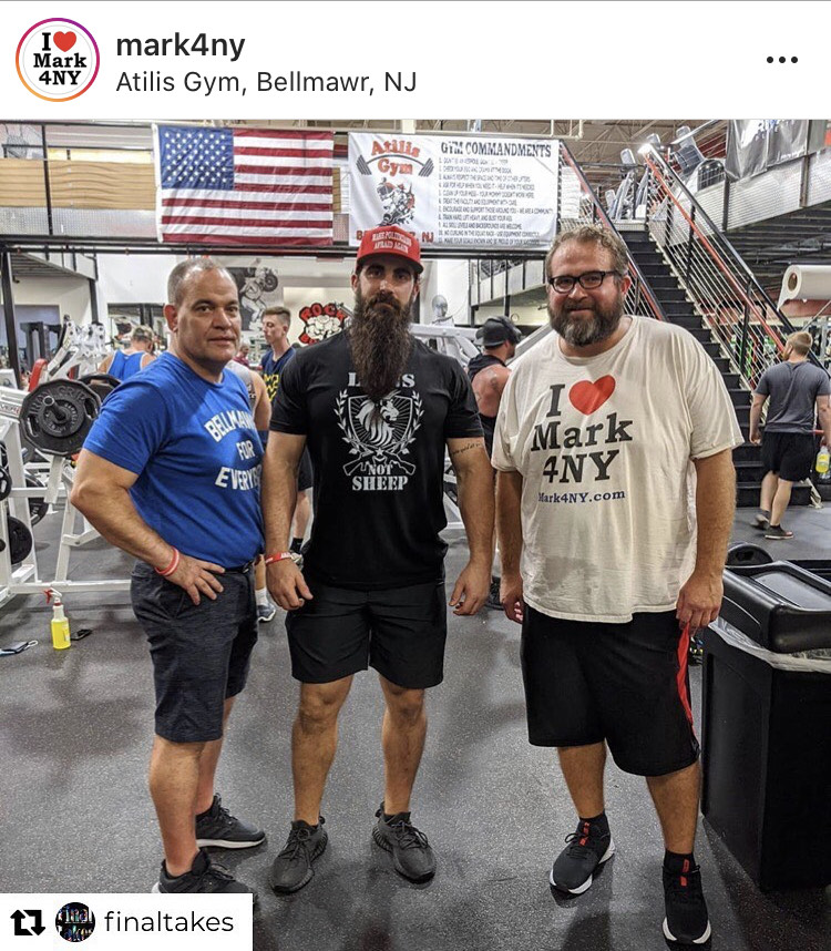Gym Owner Ian Smith interviewed by NY State Assembly Candidate Mark Szuszkiewicz