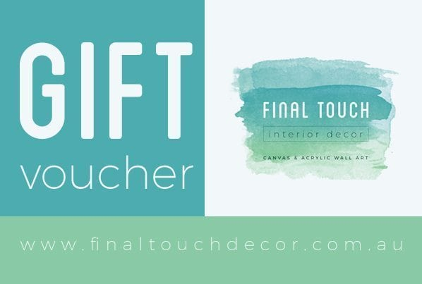 Final Touch Decor Gift Voucher