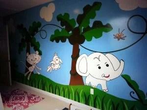 coloring book walls