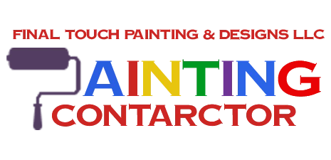 painting contract words with roller