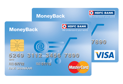 hdfc money back credit card review