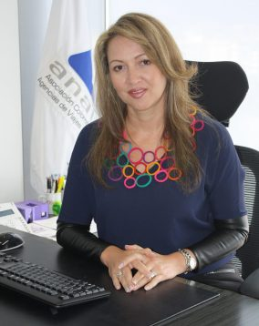Paula Cortés Calle is the president of ANATO, Colombia's tourism & travel industry group