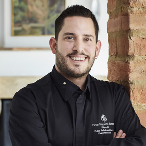 Executive Chef Pablo Peñalosa