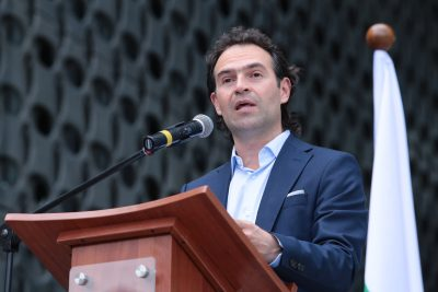 "Federico ""Fico"" Gutierrez is the new Mayor of Medellin"