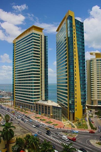 TTIFC's headquarters in downtown Port of Spain, Trinidad & Tobago.