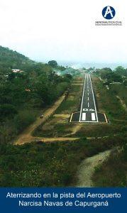Approach to Capurganá - all photos courtesy of Aerocivil Colombia