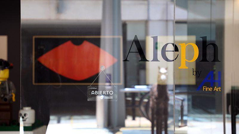 Alberto Hugo Restrepo Aleph Galeria de Arte (Credit: Loren Moss)