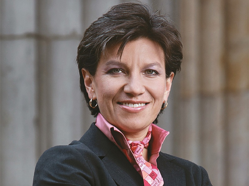 Claudia López, senator of Colombia. (Credit: Patty Suescún)