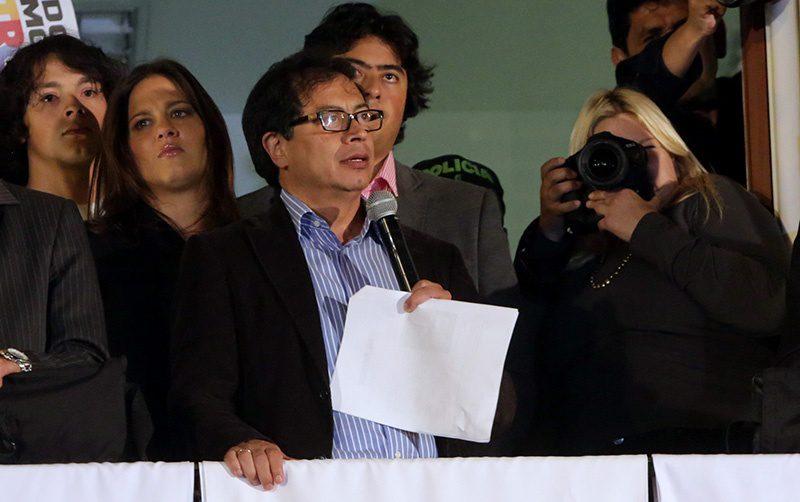 Gustavo Petro, former mayor of Bogotá. (Credit: Prensa de Bogotá)