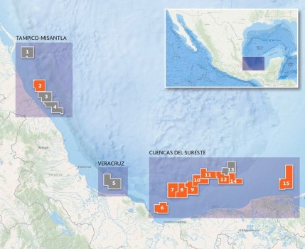 Ecopetrol Mexico Exploration Blocks 375