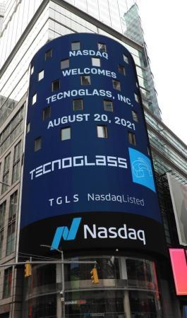 Tecnoglass at NASDAQ Opening Bell