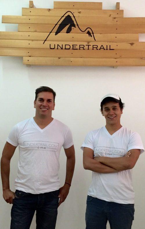 Undertrail co-founders, CEO James Figueroa, left, and Eduardo Maldonado