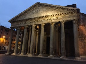 2014 12-December 24 (668) Rome; Pantheon early morning