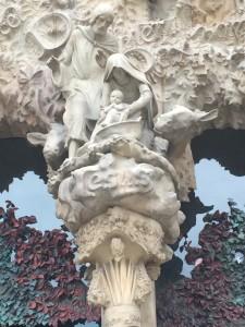 2014 12-December 27 (2028) Barcelona; Sagrada Familia Nativity Entrance