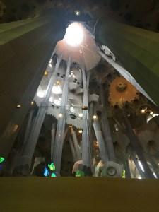 2014 12-December 27 (2111) Barcelona; Nave of the Sagrada Familia