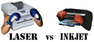 Can a laser printer really be better than an inkjet? Photo Credit: