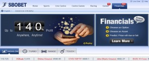 Sbobet main page