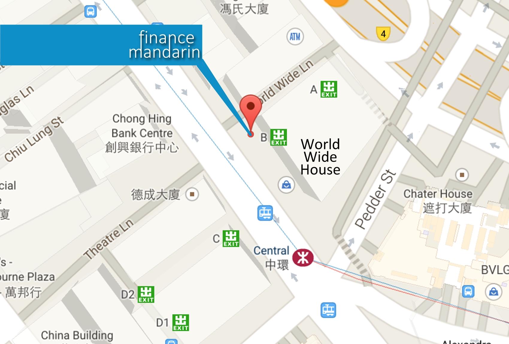 Finance House Finance House Map