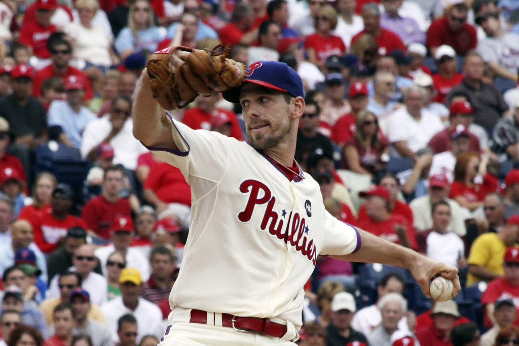 Cliff Lee, Philadelphia Phillies starting pitcher, wallpaper 2013-2014