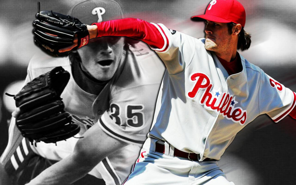 Cole Hamels, Philadelphia Phillies pitcher, 2013-2014 wallpaper