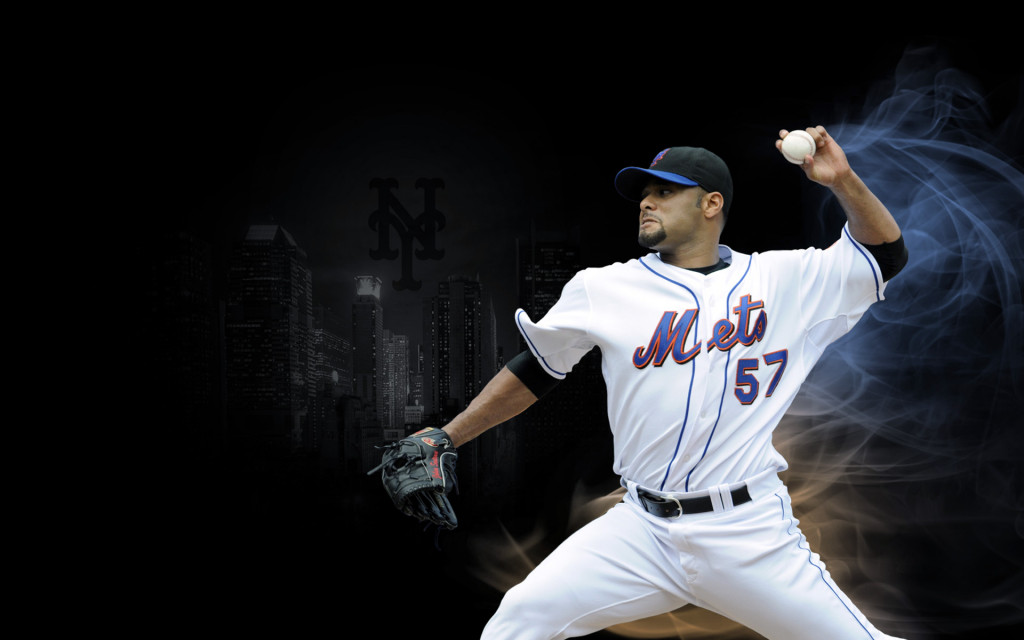Johan Santana, New York Mets pitcher, 2013-2014 wallpaper