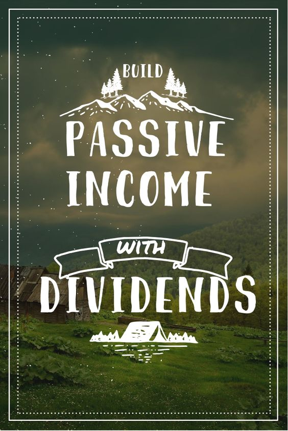 easy residual income dividends